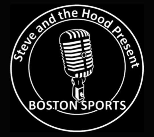 steve and the hood present boston sports logo