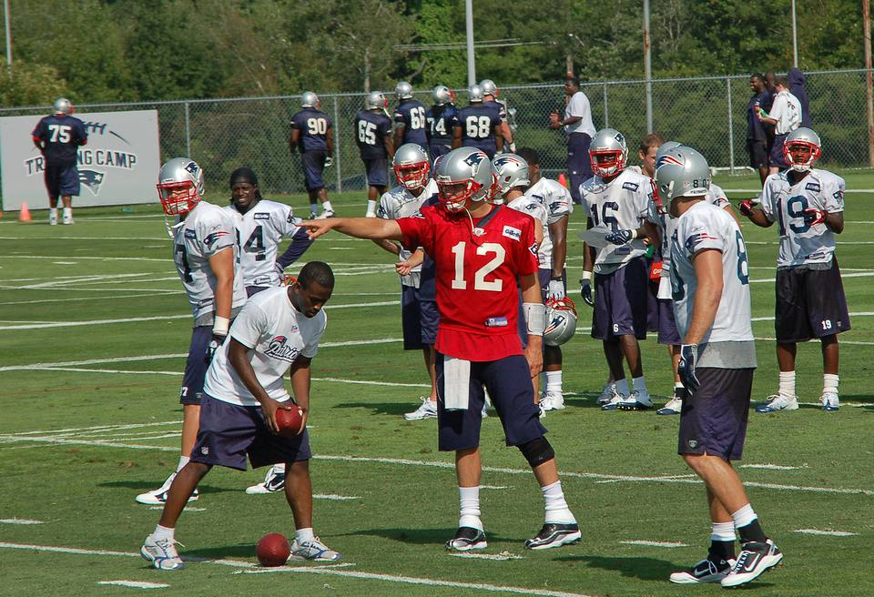 training camp for patriots