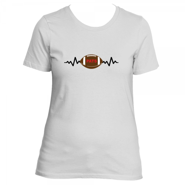 Heartbeat Pats Womens shirt