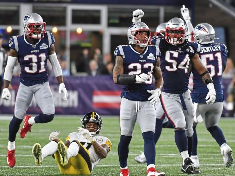 Steelers throttled by the patriots