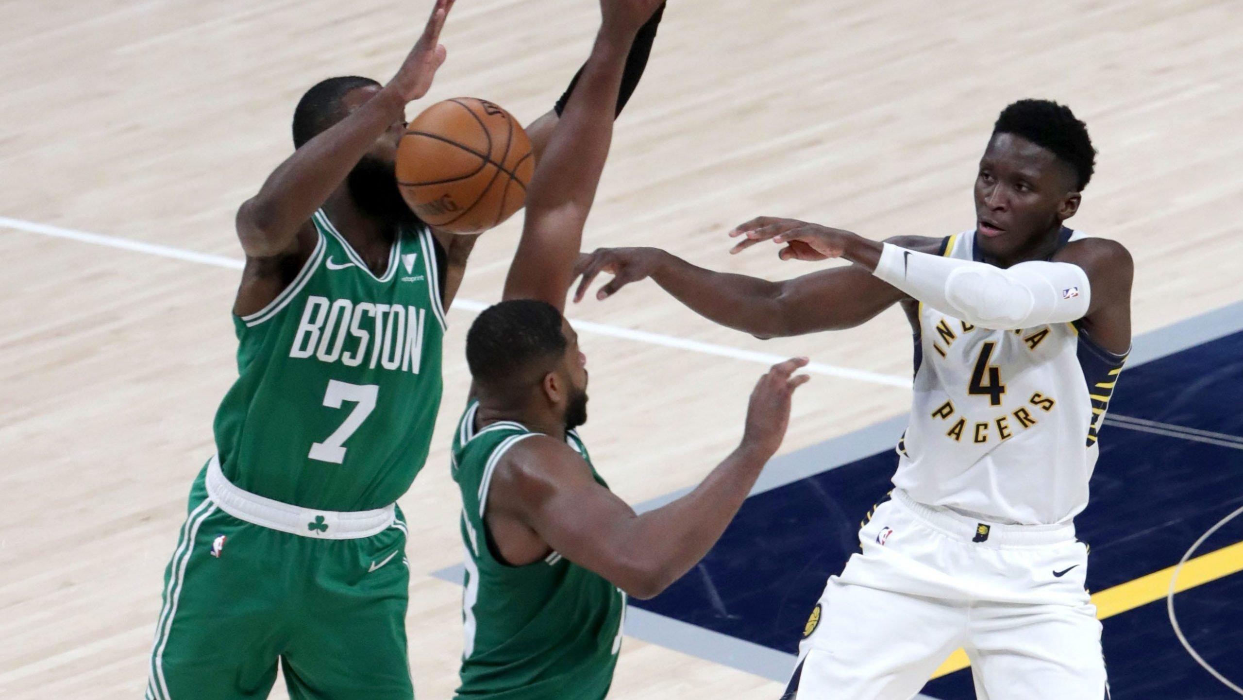 pacers versus Celtics