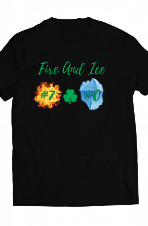 Black Fire and Ice Unisex shirt
