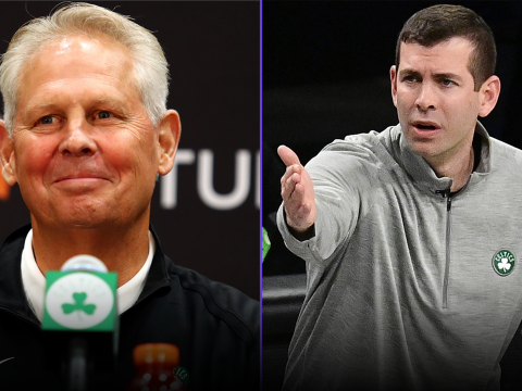 danny ainge retires and brad stevens is promoted